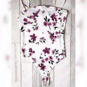 💖3/$25💖 Floral Body Suit - GARAGE